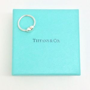 Tiffany & Co. Sterling Silver Puffy Heart Ring